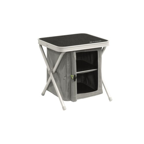 Outwell Cayon Cupboard With Magnetic Doors Grey