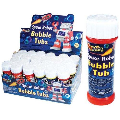 24 Space Robot Bubble Tubs 25ml