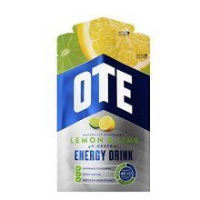 OTE Lemon & Lime Energy Drink - 14 x 43g Packs | Powdered Sports Drink Sachets