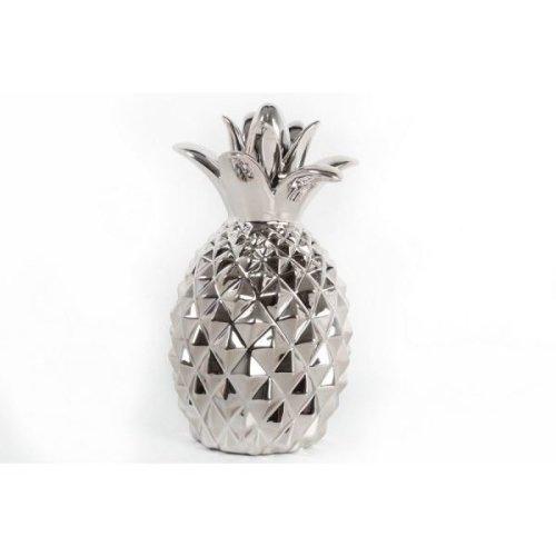 14X24Cm Silver Pineapple Home Restaurant Decoration Ornament