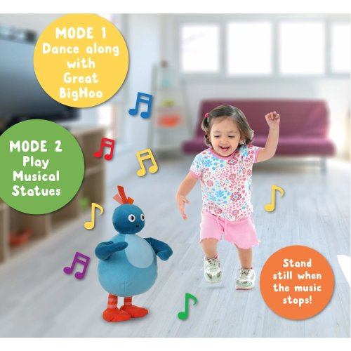 Twirlywoos Dance-Along Musical Statues Great BigHoo Soft Toy