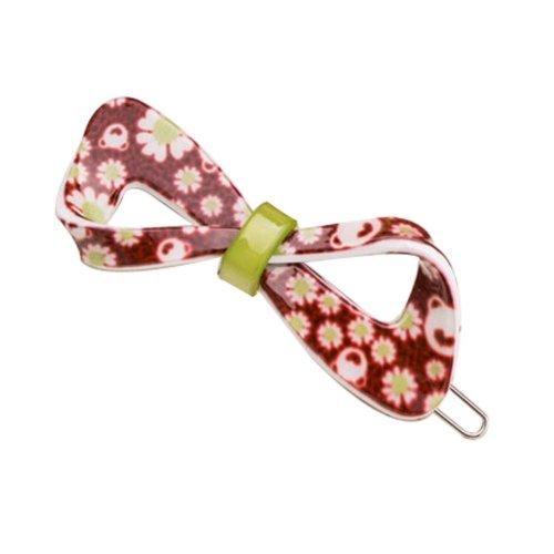Set of 2 Flower Hair Pin Fashion Hair Clip Creative Hairpin,Brown/Green
