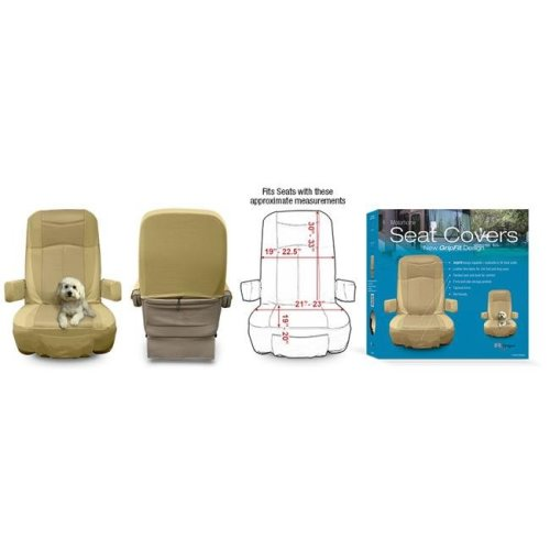 RV Designer C795 Motorhome Seat Cover GripFit - Pack of 2