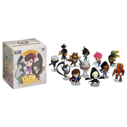 Cute But Deadly Series 3 - Overwatch (1x Random Supplied)