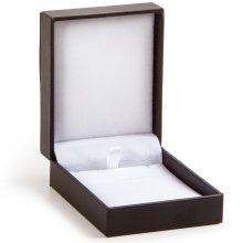 """Jewelry Box 4""""X3""""X1.25""""-Black Velvet"""