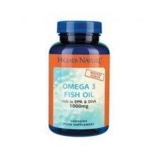 Higher Nature - Fish Oil Omega 3 1000mg 180 capsule