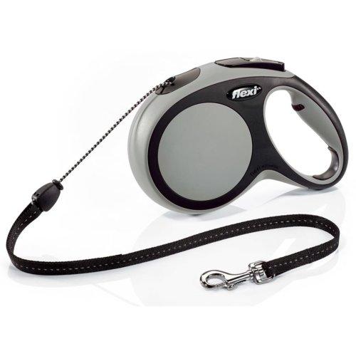 Flexi Cord Leash New Comfort Size M 8 m Grey 21321