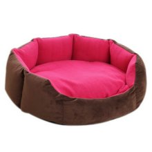 Octagonal Detachable Small And Medium Sized Pet Kennel, Rose Red