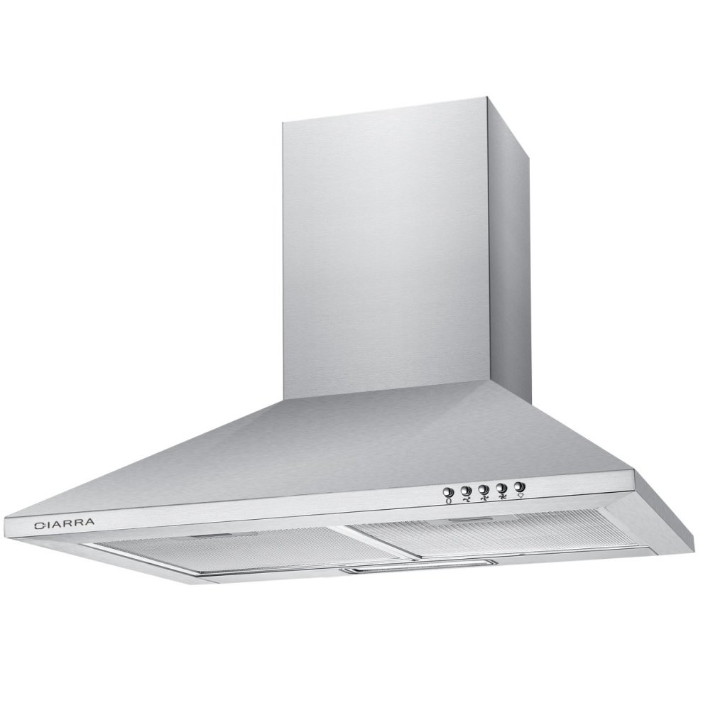 60cm Stainless Steel Chimney Cooker Hood 600mm Range Kitchen Extractor Fan 1