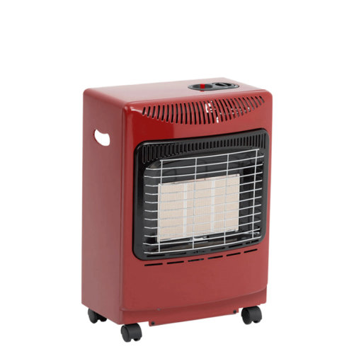 Lifestyle Red Mini Heatforce 4.2kw Radiant Portable Gas Heater