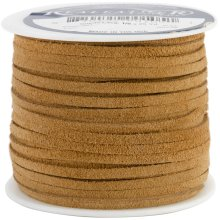"Realeather Crafts Suede Lace .125""X25yd Spool-Toast"