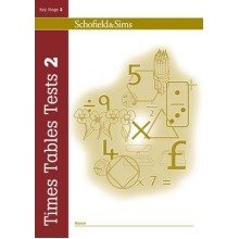 Times Tables Tests Book 2