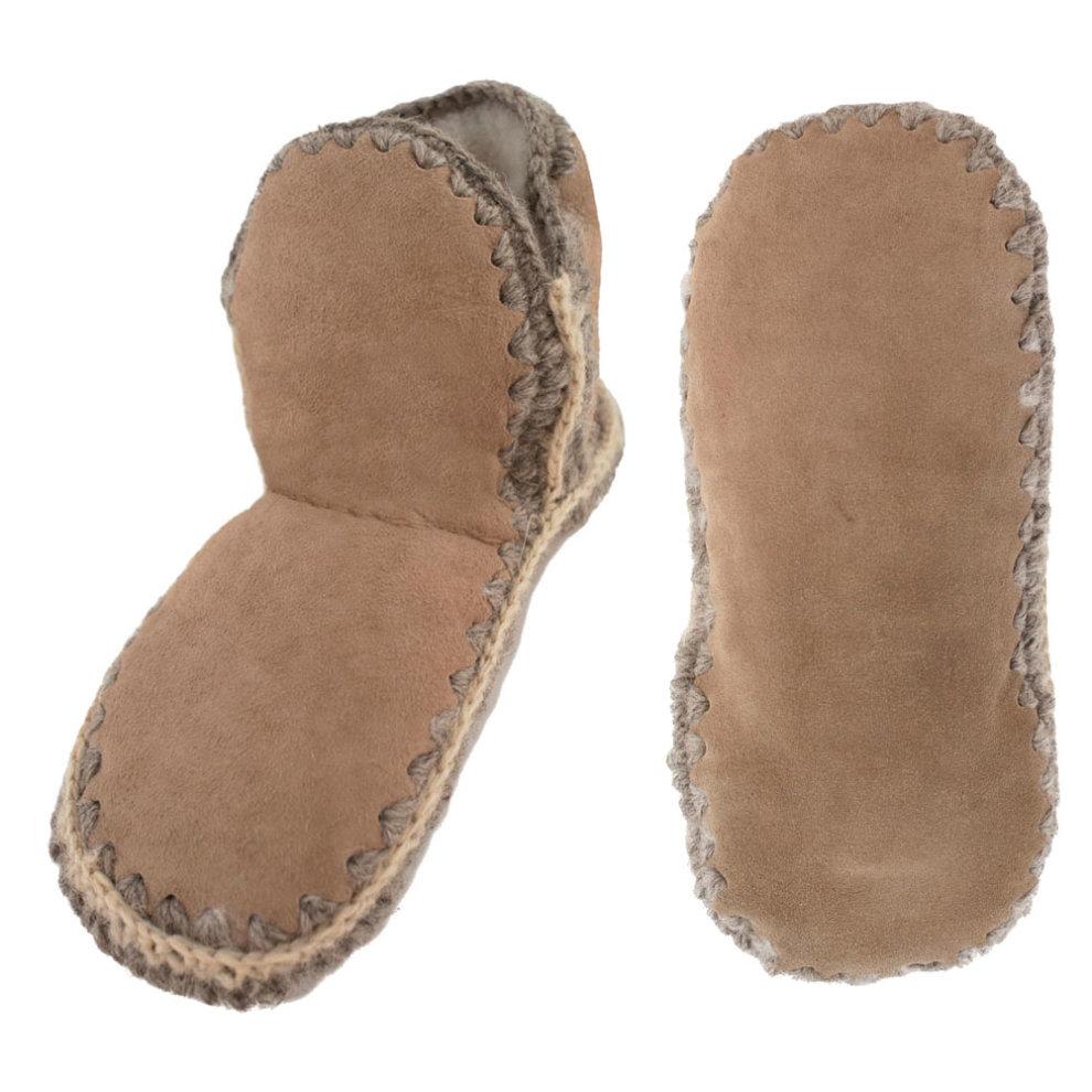 312004afe0cbf Shepherd of Sweden Ladies Merino Sheepskin Slipper Socks on OnBuy