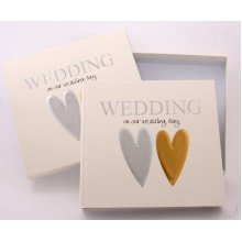 Wedding Photo Album and Keepsake box