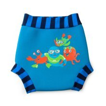 Zoggs Boys' Zoggy Swimsure Nappy - Blue, 3 - 6 Months