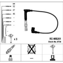 NGK 736Ignition Cable Kit