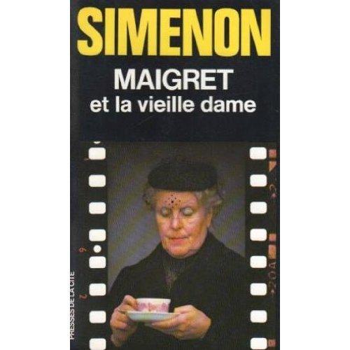 Maigret et la vieille dame éd. 1978