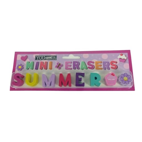 Childrens Mini Erasers - Summer