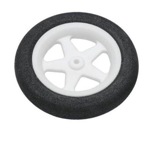 Dubro Products DUB123MS 1.23 in. Micro Sport Wheels, Pack of 2