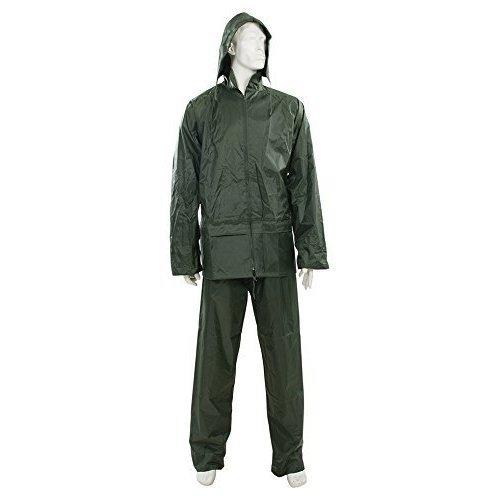 """Silverline Rain Suit Green 2pce M 72 - 126cm (28 - 50"""") - 28 50 961552 -  rain suit green 72 126cm 28 50 2pce silverline 961552"""