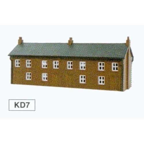 Four Houses Unit - Kestrel Design GMKD07 - N building plastic kit - free post