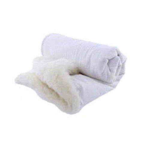 Snow Shepherd SW630-IVO 40 x 60 in. Baby Throw Ivory Flannel