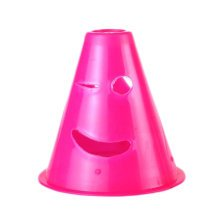 10Pcs Slalom Cones Skating Cone Traffic/ Training Cones/ Markers/ Barrier-Pink