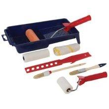 9 Piece Silverline Decorators Roller & Brush Set - 9pce 564795 Decorating -  roller 9pce silverline brush set decorators 564795 decorating