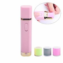 Mini Portable Electric Nail Drill Machine Pen With 3 Grinding Heads