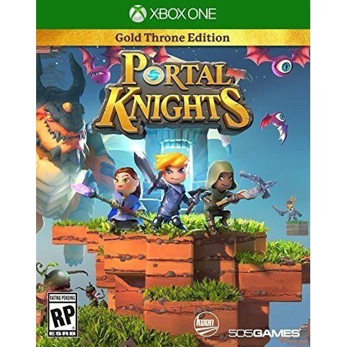 Portal Knights Gold Throne Edition Xbox One