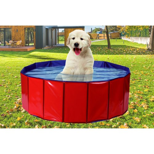 Pet Pool Playpen PVC Water Foldable Puppy Size M/L