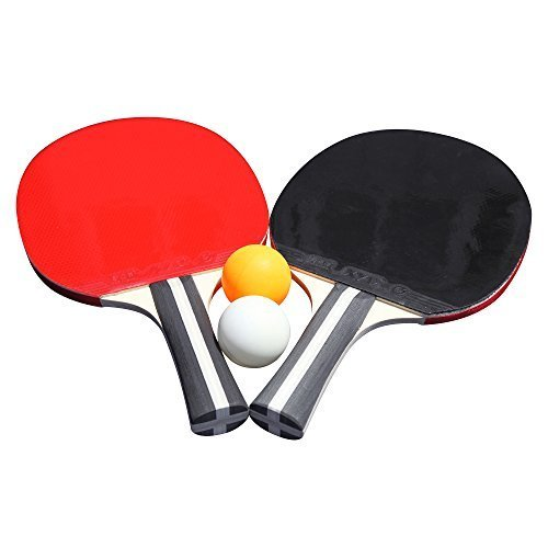 Hathaway Single Star Control Spin Table Tennis 2 Player Racket and Ball Set