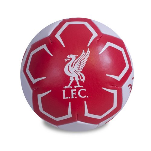 Liverpool FC Official Crest Design 4 Inch Mini Soft Ball