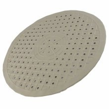 Non Slip Round Soft Rubber Sink Mat Draining Drainer Scratch Protector Liner