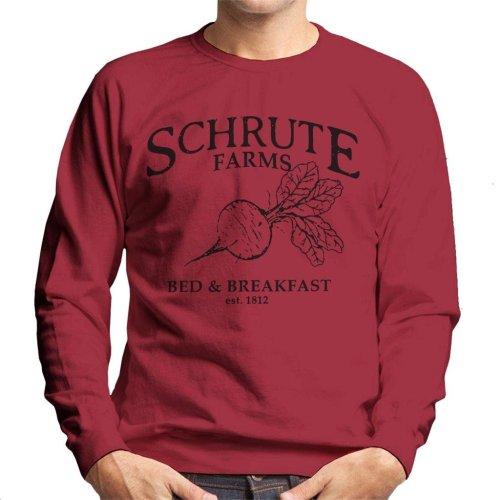 Schrute Farms Bed And Breakfast The Office US Men's Sweatshirt