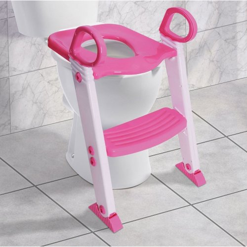SAFETY POTTY BABY TODDLER TRAINING TOILET SEAT STEP LADDER