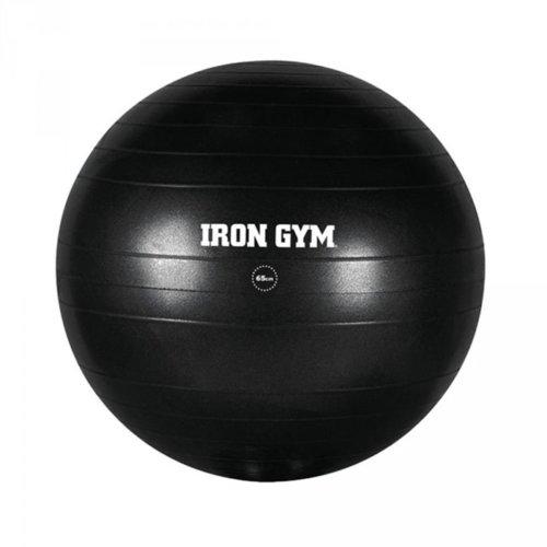 Iron Gym Exercise Ball 65 cm Rubber Black IRG029