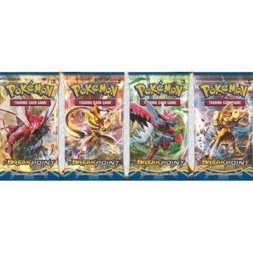 Pokemon XY9 Breakpoint Sealed Booster Pack x 4