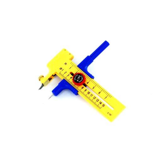 10mm - 150mm Compass Circle Cutter - Pkn4101 Cutting Tool Cuts From Modelcraft -  10mm 150mm pkn4101 circle cutting tool cuts from modelcraft compass