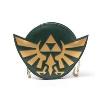 Nintendo Legend of Zelda Golden Hylian Royal Crest Ladies Purse - Green