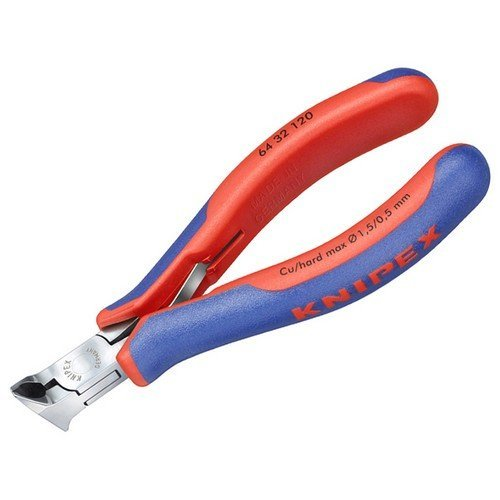 Knipex 64 32 120 Electronic Oblique End Cutting Nippers 120mm