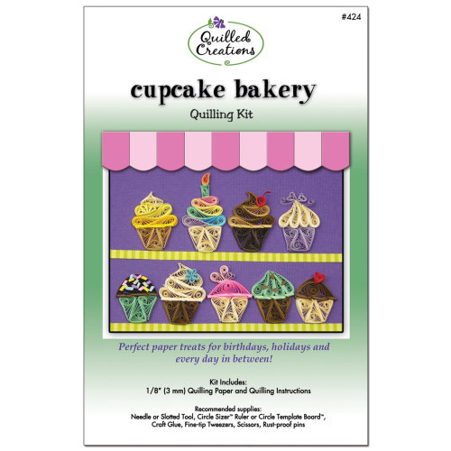 Quilled Creations Quilling Kit-Cupcake Bakery