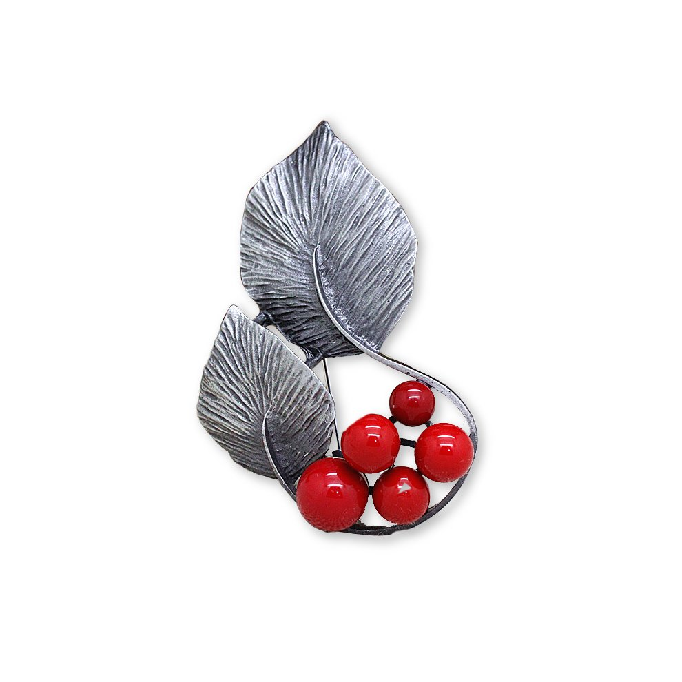 103b3b609 Aushell fruit leaf design fashion brooche pin button pin safety pin on OnBuy
