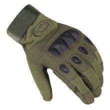 Men Outdoor Tactical Gloves Microfiber Military Antiskid Hunting Full Finger Gloves