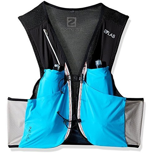 Salomon SLab Sense 2L Set Hydration Vest Transcend BlueBlack L