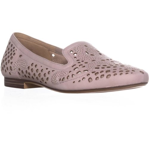 naturalizer Eve Cutout Square Toe Loafers, Soft Marble, 5.5 UK