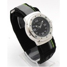 Boys Terrain Boardrider Sports Surf Watch-Velcro Strap+Rotating Bezel-50m Water Resitant