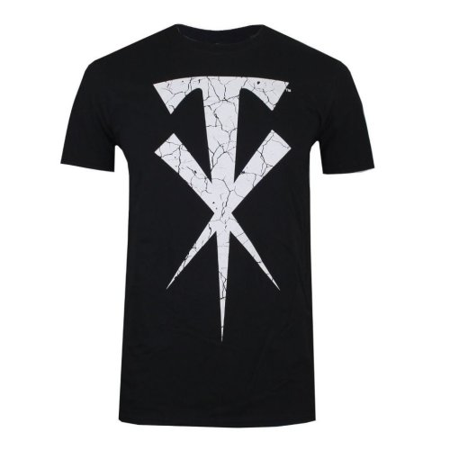 WWE Undertaker Cross Mens T-shirt Black
