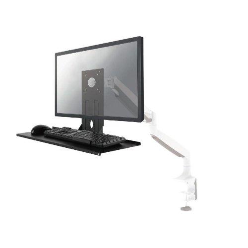 Newstar Universal Keyboard & Mouse Shelf (width: 65 cm) - Black