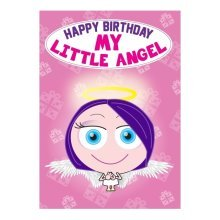Birthday Card - My Little Angel